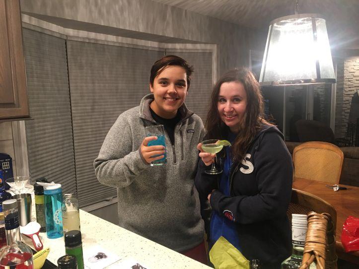 Calyn & Catie Drinks